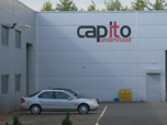 Capito - Sign on Cladding